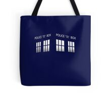 Time Box Tote Bag