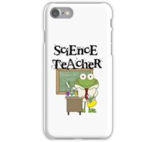 Frog Science Laboratory Science Teacher iPhone Case/Skin