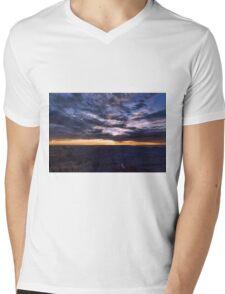 Canyon Light Show Mens V-Neck T-Shirt