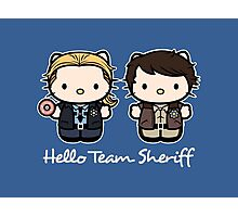 Team Sheriff  Photographic Print