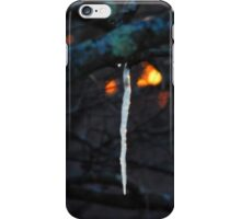 Sunset & Icicles iPhone Case/Skin