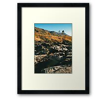River Flowing Through Dry Grassland (Chapada dos Veadeiros NP, Brazil) Framed Print