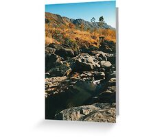 River Flowing Through Dry Grassland (Chapada dos Veadeiros NP, Brazil) Greeting Card