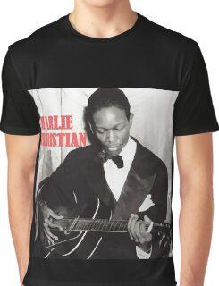 CHARLIE CHRISTIAN - Jazz Guitar Graphic T-Shirt