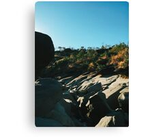 Rocky Riverbed in Chapada dos Veadeiros National Park (Goias, Brazil) Canvas Print