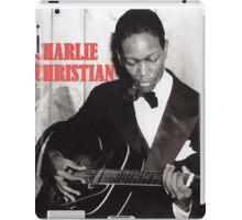 CHARLIE CHRISTIAN - Jazz Guitar iPad Case/Skin