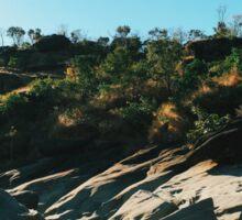 Rocky Riverbed in Chapada dos Veadeiros National Park (Goias, Brazil) Sticker