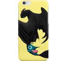 Toothless and Stitch iPhone Case/Skin