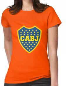 Boca Juniors Womens Fitted T-Shirt