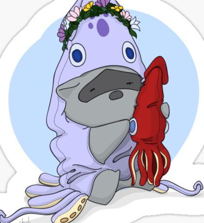 Squid Onesie Sticker