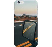 Driving Through Stunning National Park Landscape (Chapada dos Veadeiros, Brazil) iPhone Case/Skin
