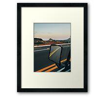 Driving Through Stunning National Park Landscape (Chapada dos Veadeiros, Brazil) Framed Print