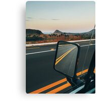 Driving Through Stunning National Park Landscape (Chapada dos Veadeiros, Brazil) Canvas Print