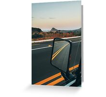 Driving Through Stunning National Park Landscape (Chapada dos Veadeiros, Brazil) Greeting Card