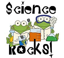 Laboratory Frogs Science Rocks Photographic Print