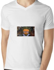 Funky Mens V-Neck T-Shirt