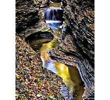 Deep In the Glen - Watkins Glen, NY Photographic Print