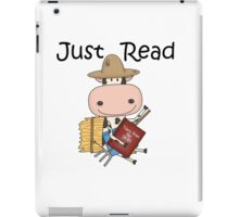 Reading Cow Education Just Read iPad Case/Skin