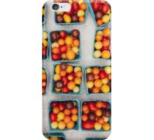 Heirloom Cherry Tomatoes in Small Boxes iPhone Case/Skin