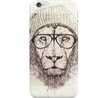 Hipster Tiger - Cases and Books. iPhone Case/Skin