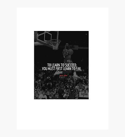 Jordan Success Photographic Print