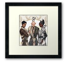 Mages of the Inquisition Framed Print