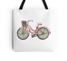 Pink beach bike Tote Bag