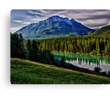 Bow River Canvas Print