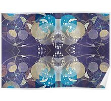 Abstract Planets Poster