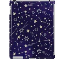 Constellation Night Sky Stars zodiac Indigo Galaxy iPad Case/Skin