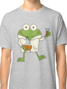Science Frog Laboratory Experiment Classic T-Shirt