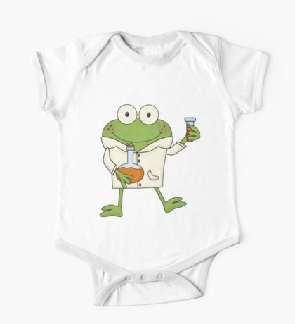 Science Frog Laboratory Experiment One Piece - Short Sleeve