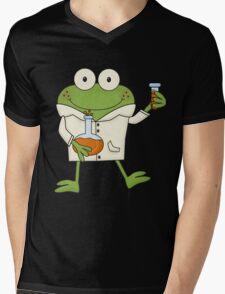 Science Frog Laboratory Experiment Mens V-Neck T-Shirt