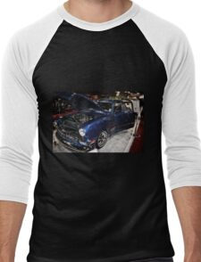 Classic Car 10 Men's Baseball ¾ T-Shirt