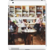 Restaurant Defocused iPad Case/Skin