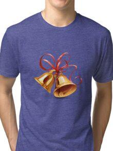 Christmas Bell Tri-blend T-Shirt