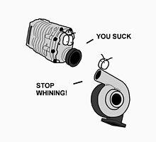 Turbo vs. Supercharger T-Shirt