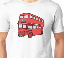 London Red Bus - British icon Unisex T-Shirt
