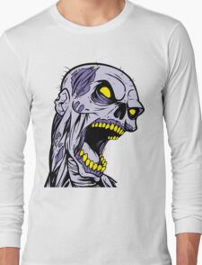 Zombie Head Long Sleeve T-Shirt