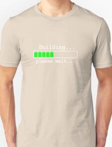 Building...please wait... Unisex T-Shirt