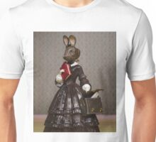 Louisa May Alcottontail - Altered Authors Unisex T-Shirt
