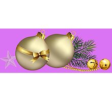 Christmas Balls Photographic Print