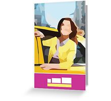 Unbreakable Kimmy Schmidt Mosaic Greeting Card