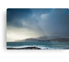 Storm clouds over Sliabh Liag Metal Print