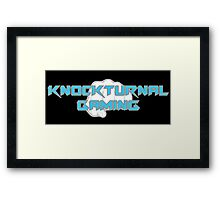 Knockturnal Gaming Fist Framed Print