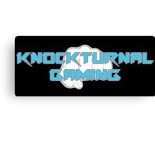 Knockturnal Gaming Fist Canvas Print