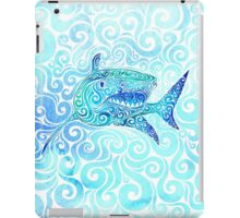Swirly Shark iPad Case/Skin