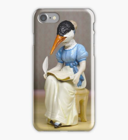 Jane Austern - Altered Authors iPhone Case/Skin