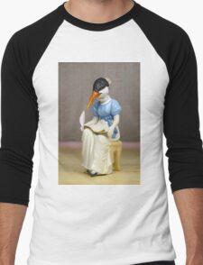 Jane Austern - Altered Authors Men's Baseball ¾ T-Shirt