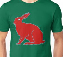 Roter Hase F Unisex T-Shirt